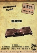 DJ Aleval @ Дакота pizza-bar