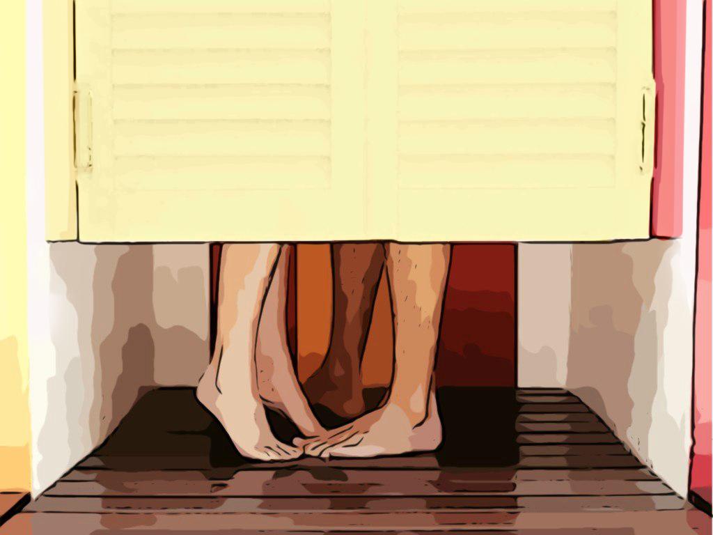 Секс в раздевалке одежды 15 фотография
